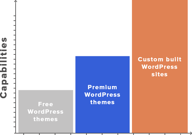 Choosing Between a Custom WordPress Theme and a Premium Theme